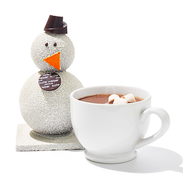 Carl the Drinking Chocolate Snowman by Kate Weiser Chocolate