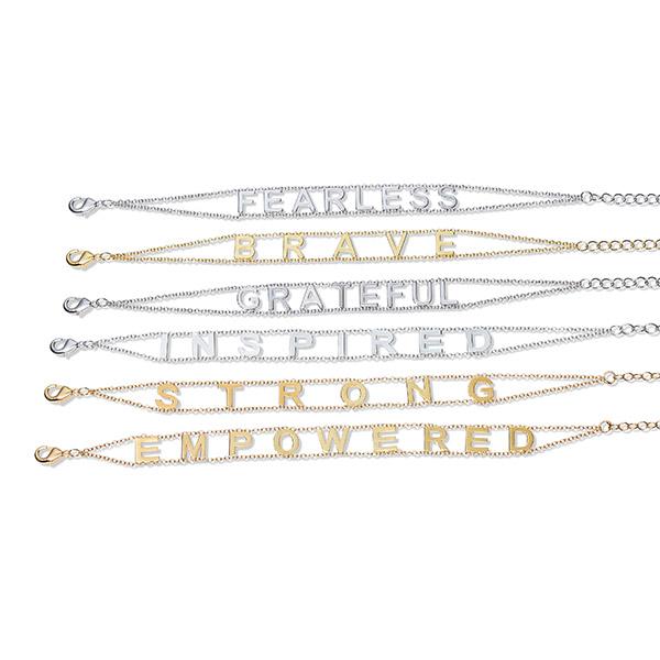 Empowered Brass Bracelets by Maya J.