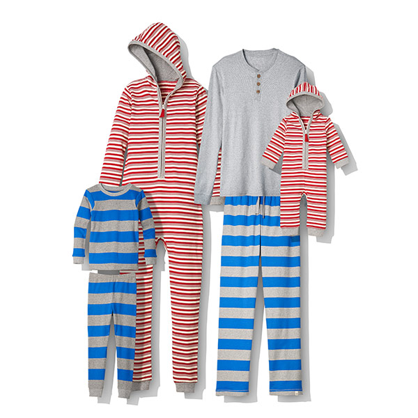 Holiday Family Jammies and Jumpbee by Burt's Bees Baby