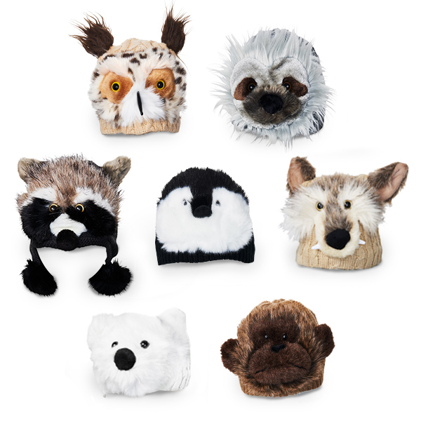 Animal Hats by Jeanne Simmons Accessories
