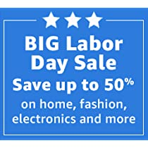 Amazon's BIG Labor Day Sale: Up to 50% Off