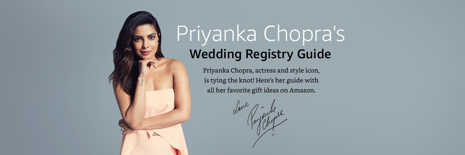 Priyanka Chopra Gift ideas