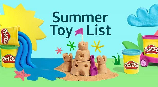 Top toys for summer on Prime