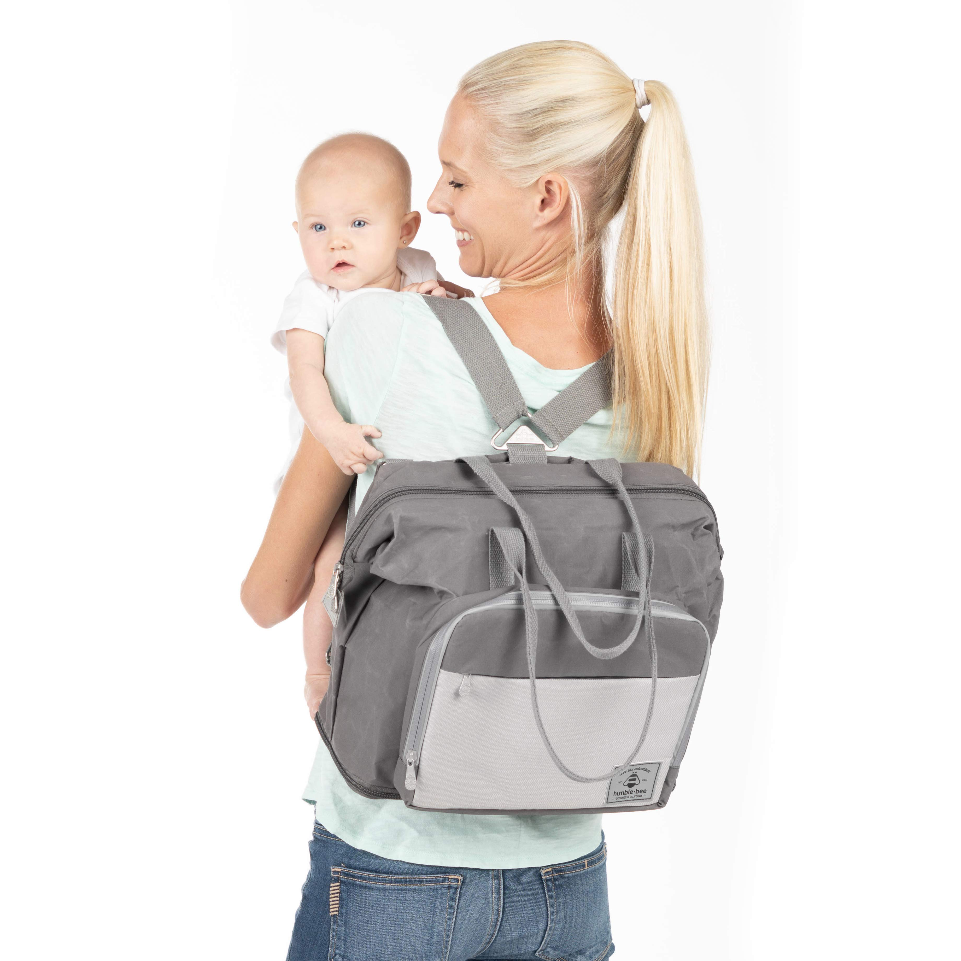Humble-Bee Boundless Charm Expandable Diaper Bag
