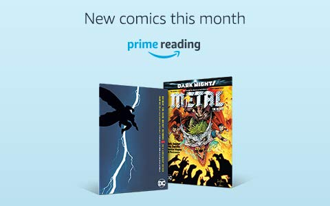 New comics in Prime Reading this month