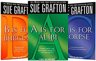 Books A thru O from Sue Grafton's Alphabet series, $2.99 each on Kindle