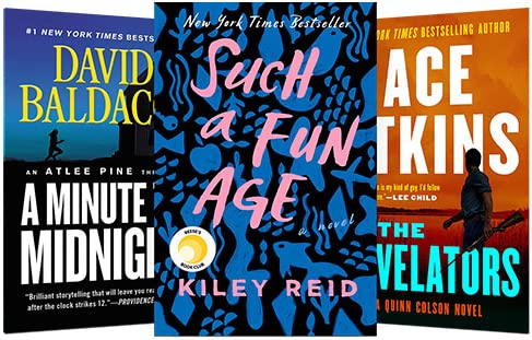 Today only: Top fiction titles at $3.99 or less on Kindle
