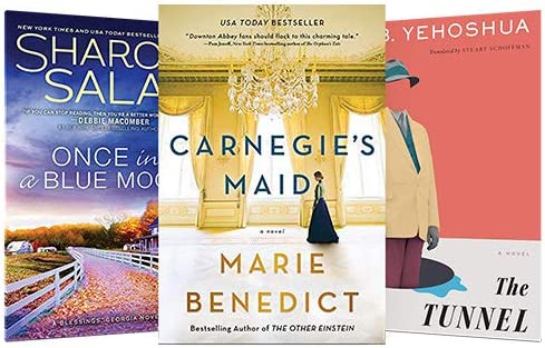 Today only: Up to 80% off, Top fiction reads on Kindle