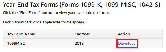 Tax Forms Amazon Kindle Direct Publishing