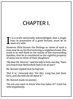 Página de título do capítulo com estilo