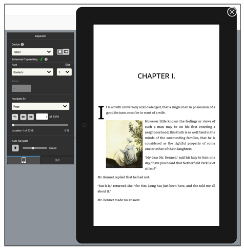 Preview of book in Kindle Create