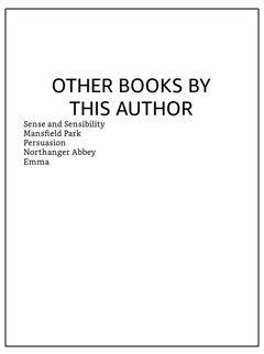 "Seite ""Other Books by This Author"" ohne Hyperlink-Titel"
