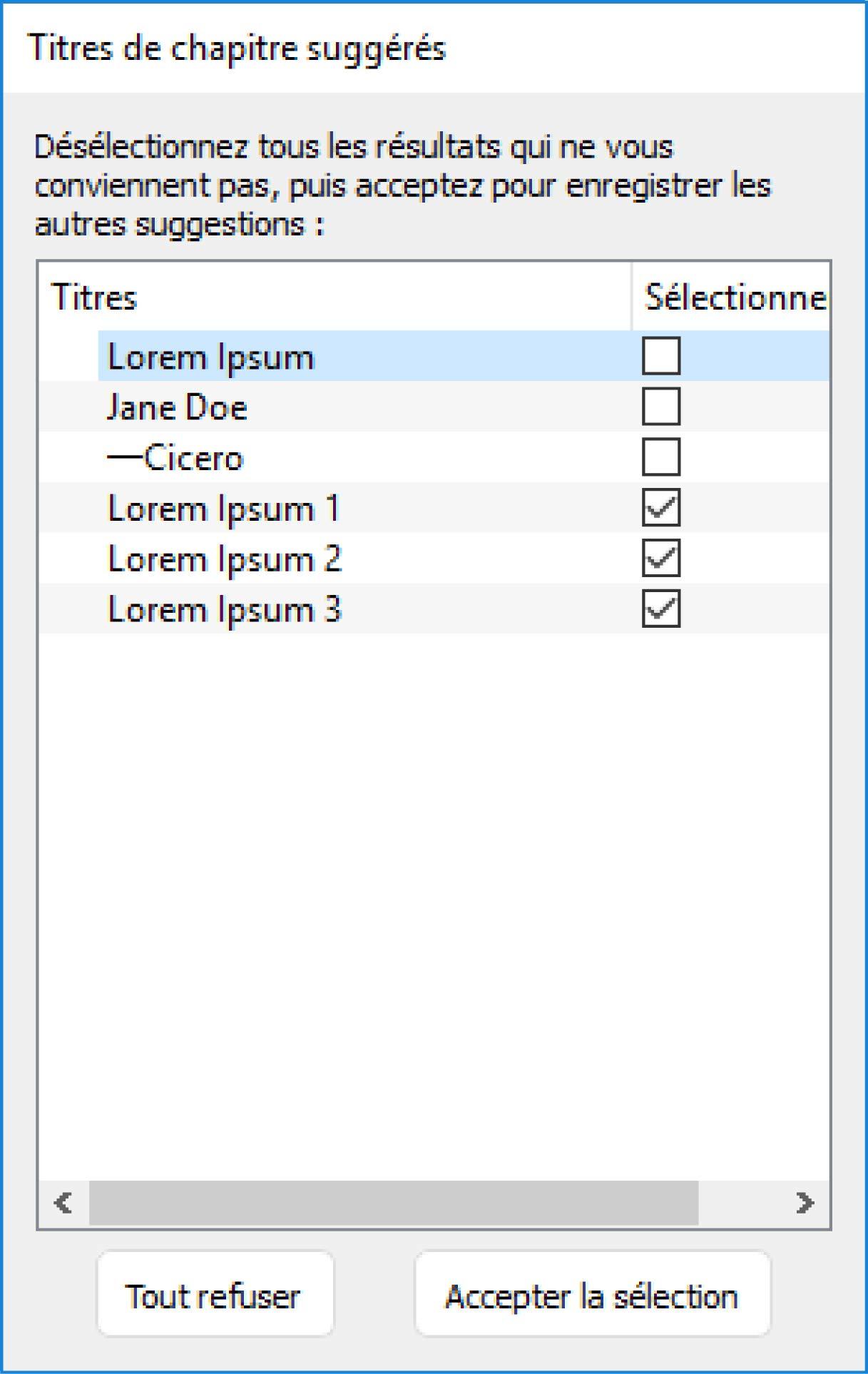 Sommaire Automatique Sous Word Table Des Matières