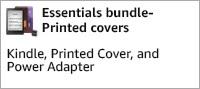 Kindle Essentials Bundle-Printed covers