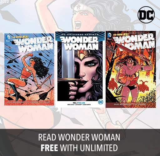 Read Wonder Woman on comiXology Unlimited!