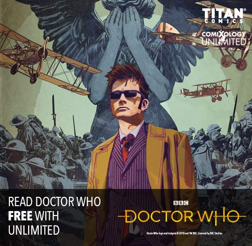 Read Doctor Who With comiXology Unlimited!