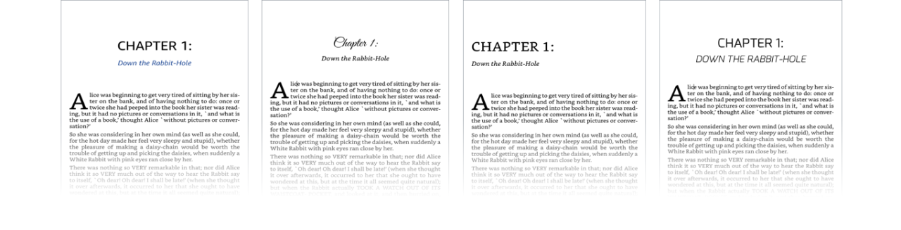 Kindle Create book templates and themes