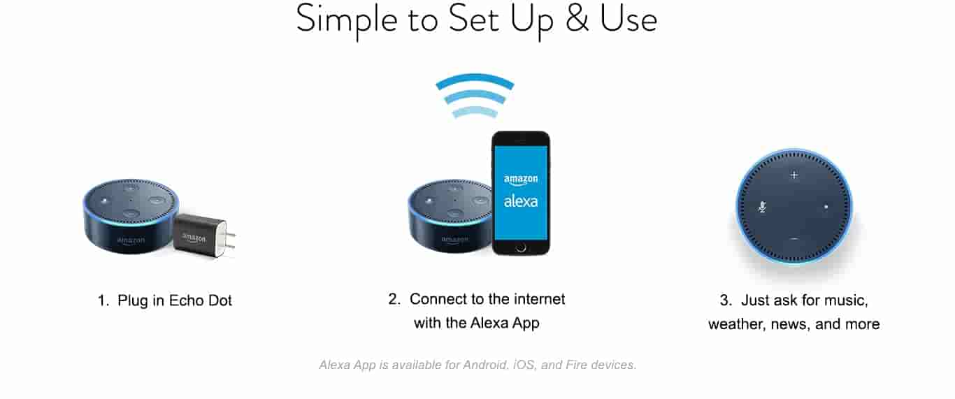 Echo Dot easy setup
