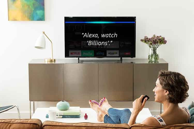 All-new Fire TV with 4K Ultra HD and Alexa Voice Remote (Pendant Design) | Streaming Media Player 3