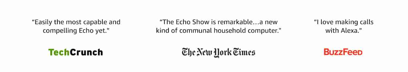 Echo Show is remarkable