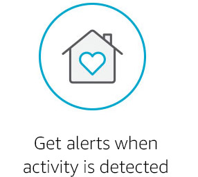 Get alerts when activity is detected
