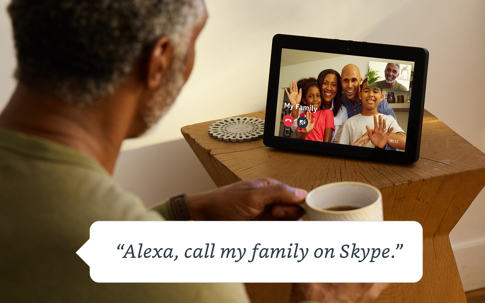how to video call on echo show