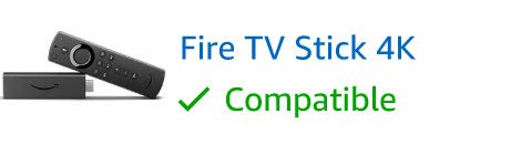 Fire TV Stick 4K, compatible