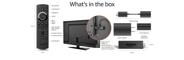 Fire TV Stick (2nd Gen) technical details