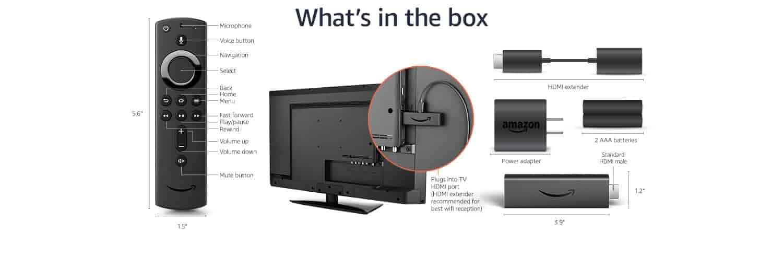 Fire TV Stick 4K technical details