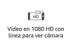 Video en 1080 HD con línea para ver cámara