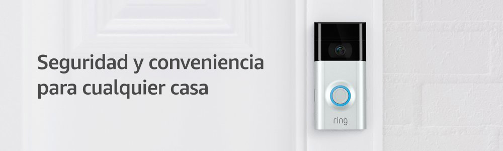 Amazon.com: Ring, timbre con video 2, Ring Video Doorbell 2 ...