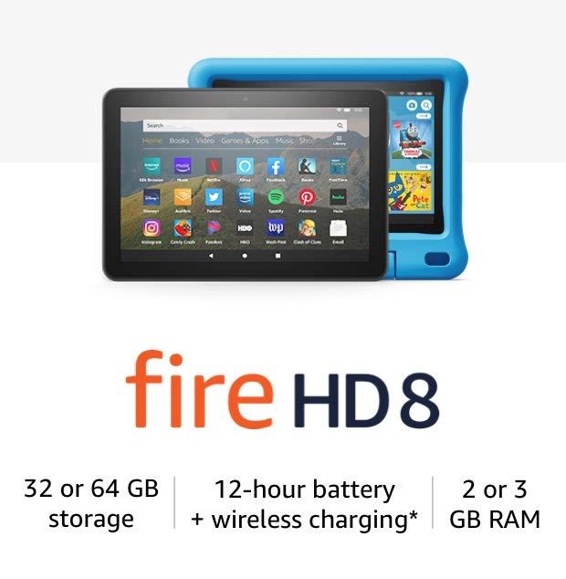 Fire HD 8 Tablets