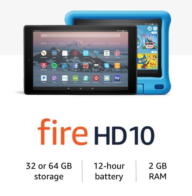 Fire HD 10 Tablets