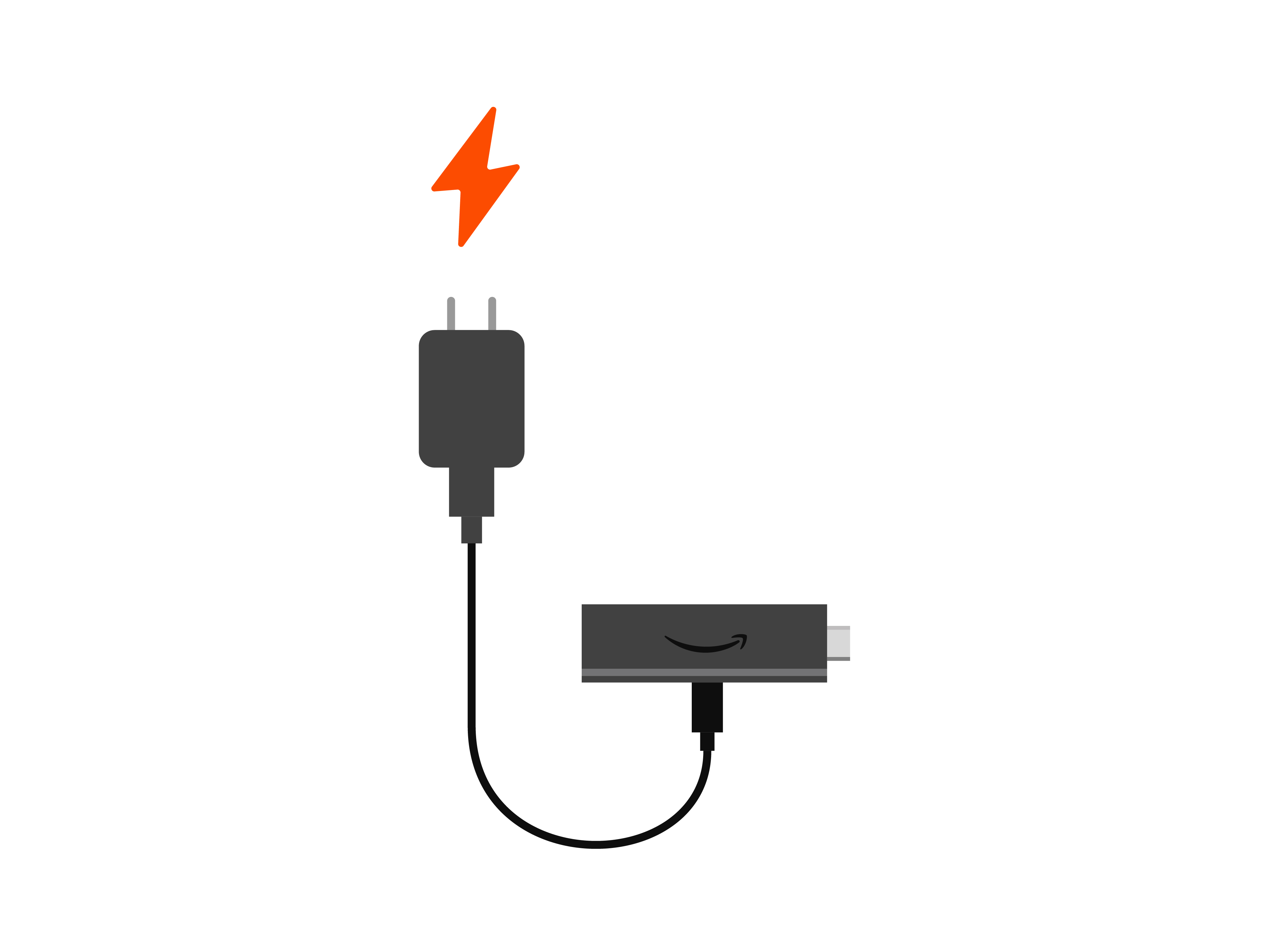 2. Plug into wall outlet.