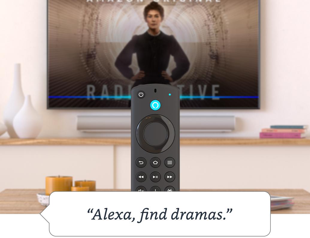 Alexa Voice Remote with TV controls