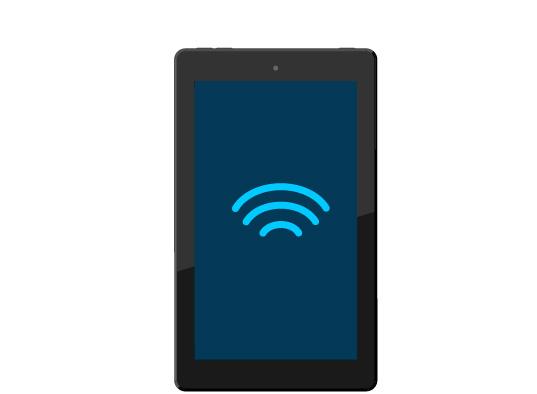 2. Conéctate a internet con la aplicación de Alexa.