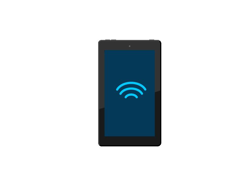 Conéctate a internet con la aplicación de Alexa.