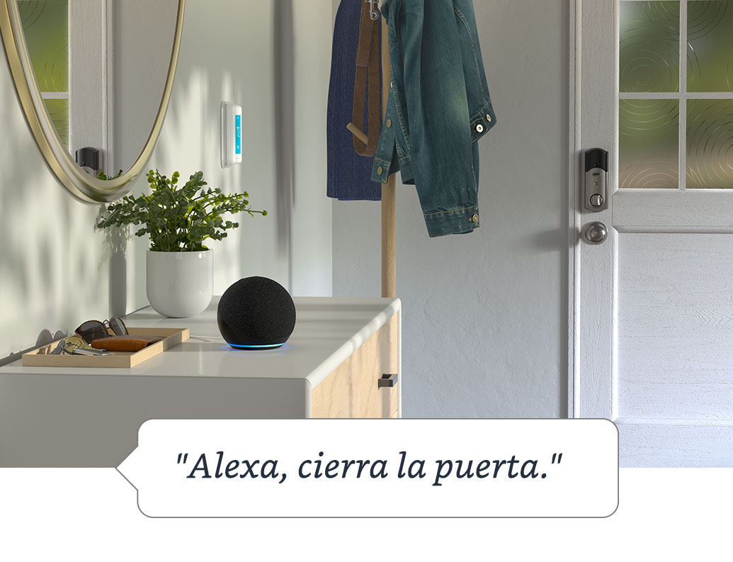 Obtén tranquilidad con Alexa Guard