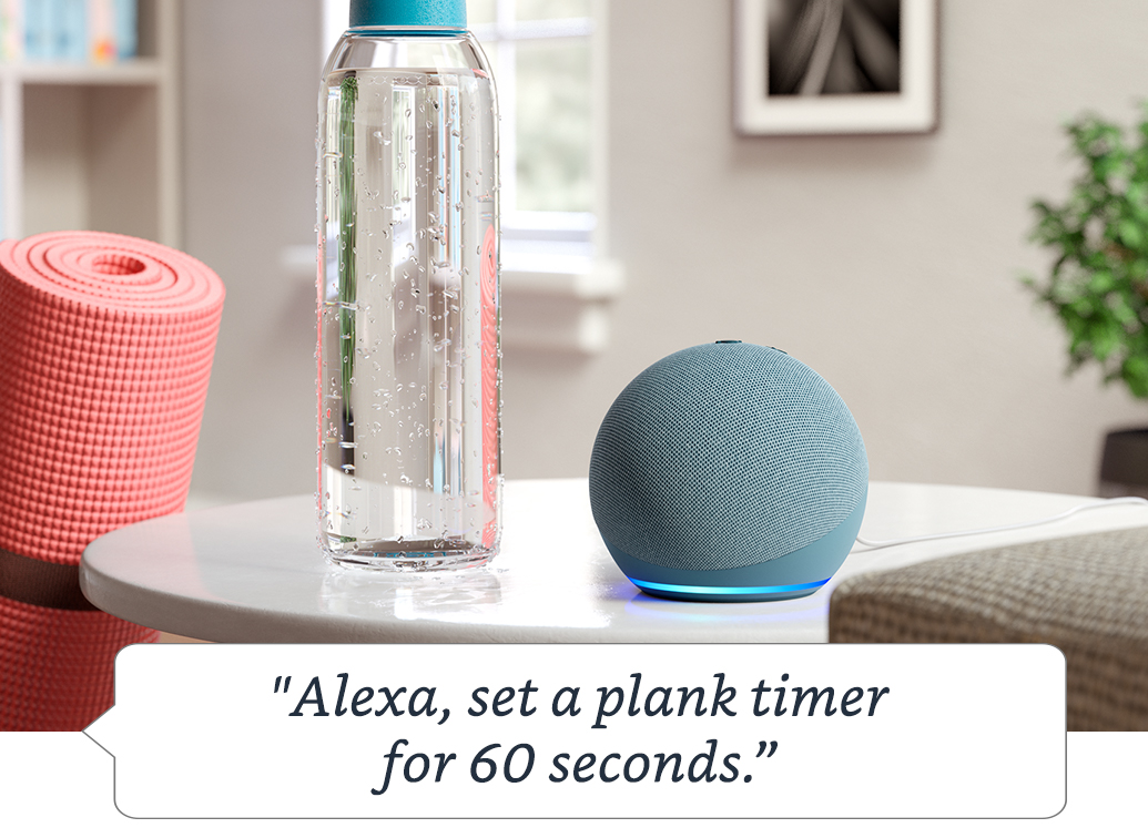 Alexa is happy to help