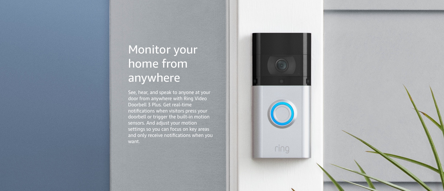 Monitor your home from anywhere
