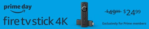 Fire TV Stick 4K. $24.99.