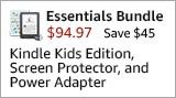 Kindle Kids Edition Essentials Bundle