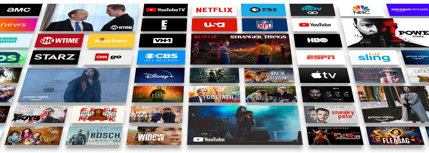 TV shows and movies on Fire TV
