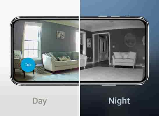 See what's happening live in HD video anytime – day or night.