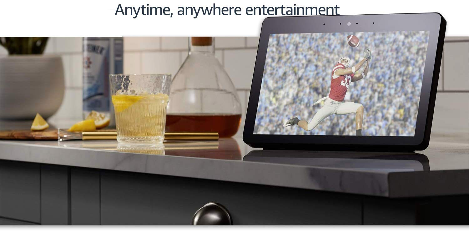Anywhere, anytime entertainment