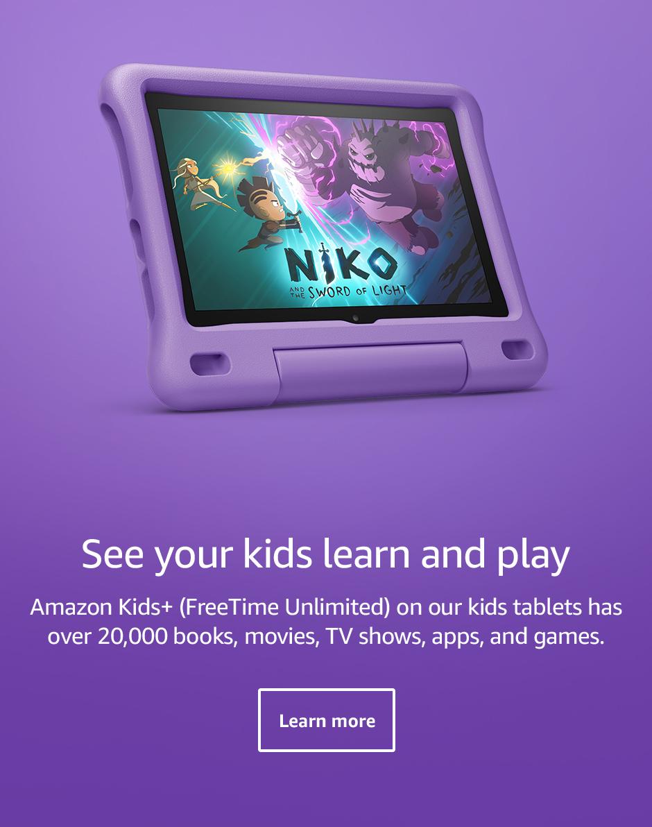 Amazon Kids+ (FreeTime Unlimited)