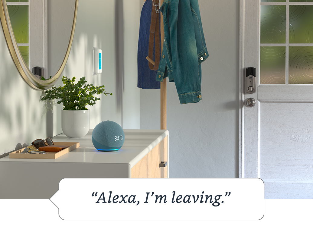 Get peace of mind with Alexa Guard