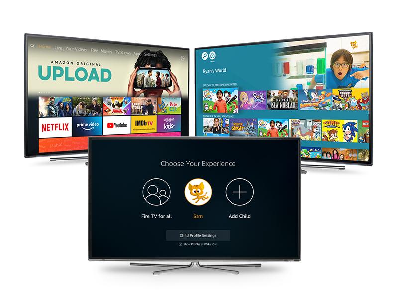 Set up Child Profiles on Fire TV