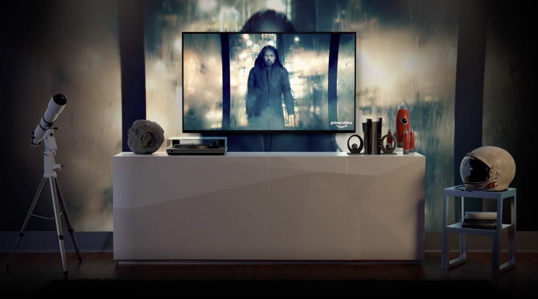 Fire TV in living room