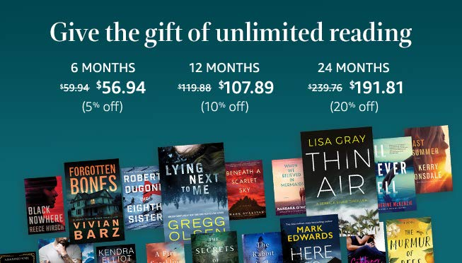 Save Up To $48 On Kindle Unlimited